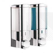 Arian Boost² - Double Chamber Soap Dispenser in Chrome